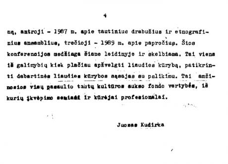 Lietuvių liaudies papročiai – Pratarmė 2