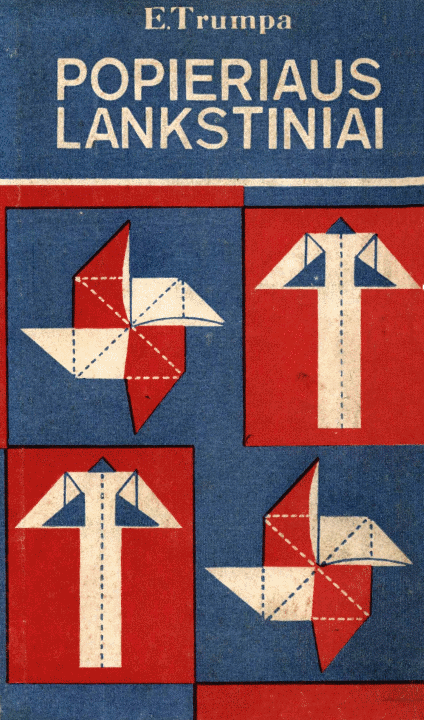 Popieriaus lankstiniai – viršelis