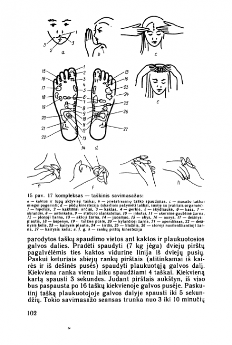 Judėjimas, kvėpavimas, psichofizinė treniruotė – 102 psl.