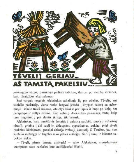 Vaižgantas – Aleksiukas ir Motutė-5