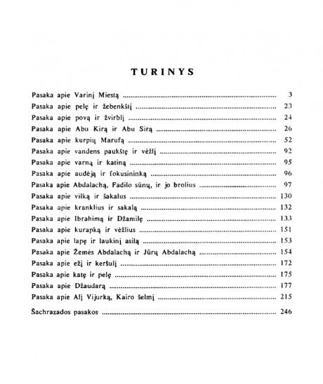 Šacharazados pasakos -Turinys