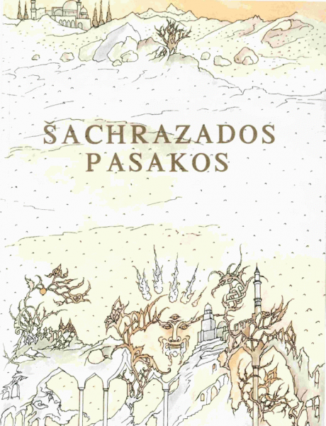 Šacharazados pasakos – Viršelis